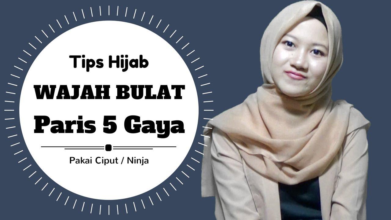 Tutorial Hijab Untuk Wajah Bulat 5 Gaya Agar Terlihat Tirus Nmy Hijab Tutorials Youtube
