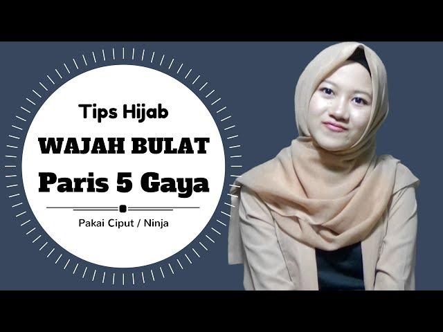 30 Tutorial Hijab Segi Empat Simple Untuk Wajah Bulat Yang Kekinian Hijabyuk Com