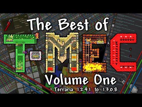 T-MEC - The Best Terraria Engineering! (Instant Boss Kills, 3000mph, Computers...)