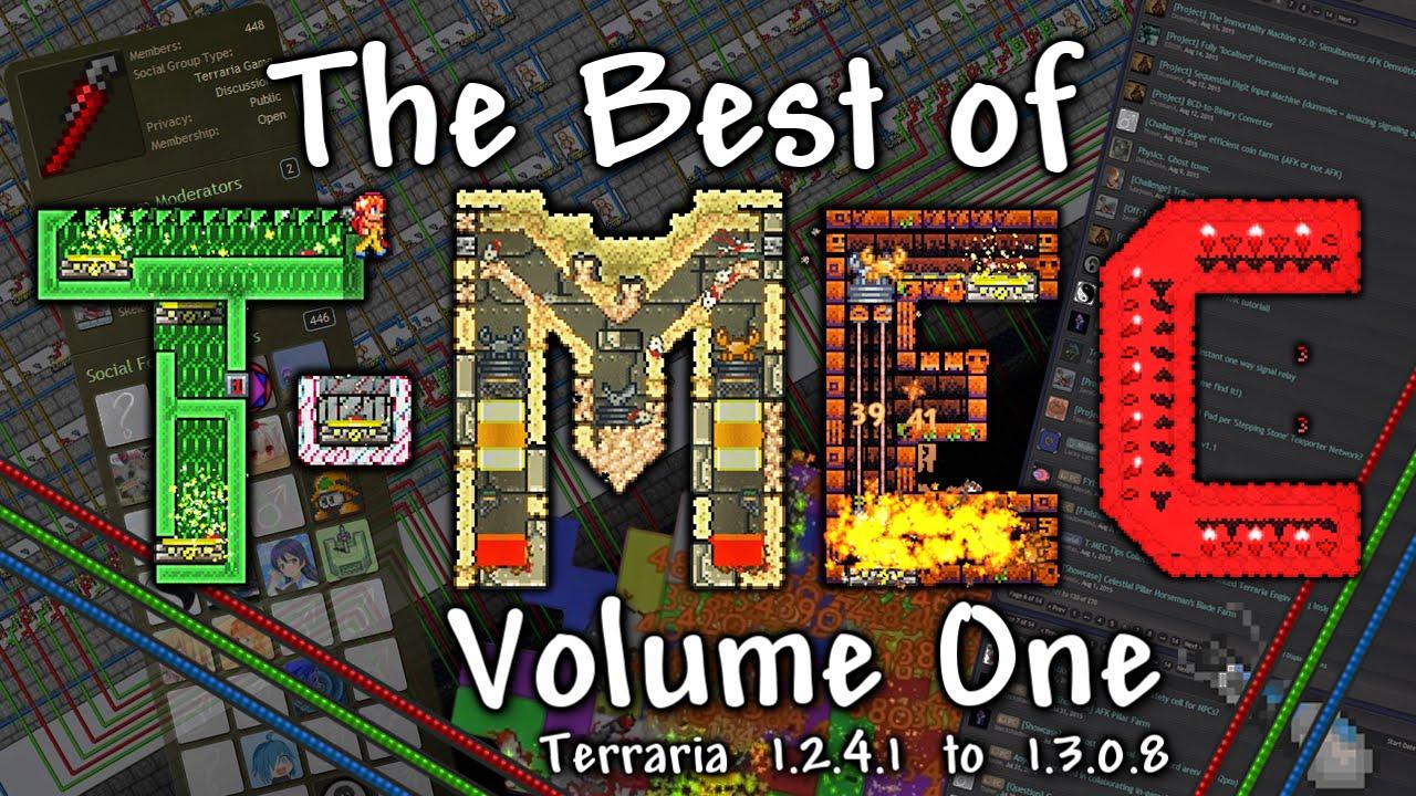 T-MEC - The Best Terraria Engineering! (Instant Boss Kills, 3000mph,  Computers   ) by ZeroGravitas