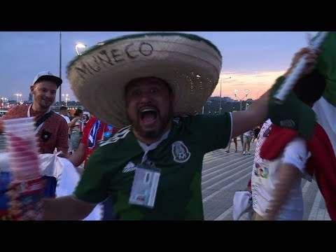 World Cup: Fans react after Mexico beats SKorea 2-1