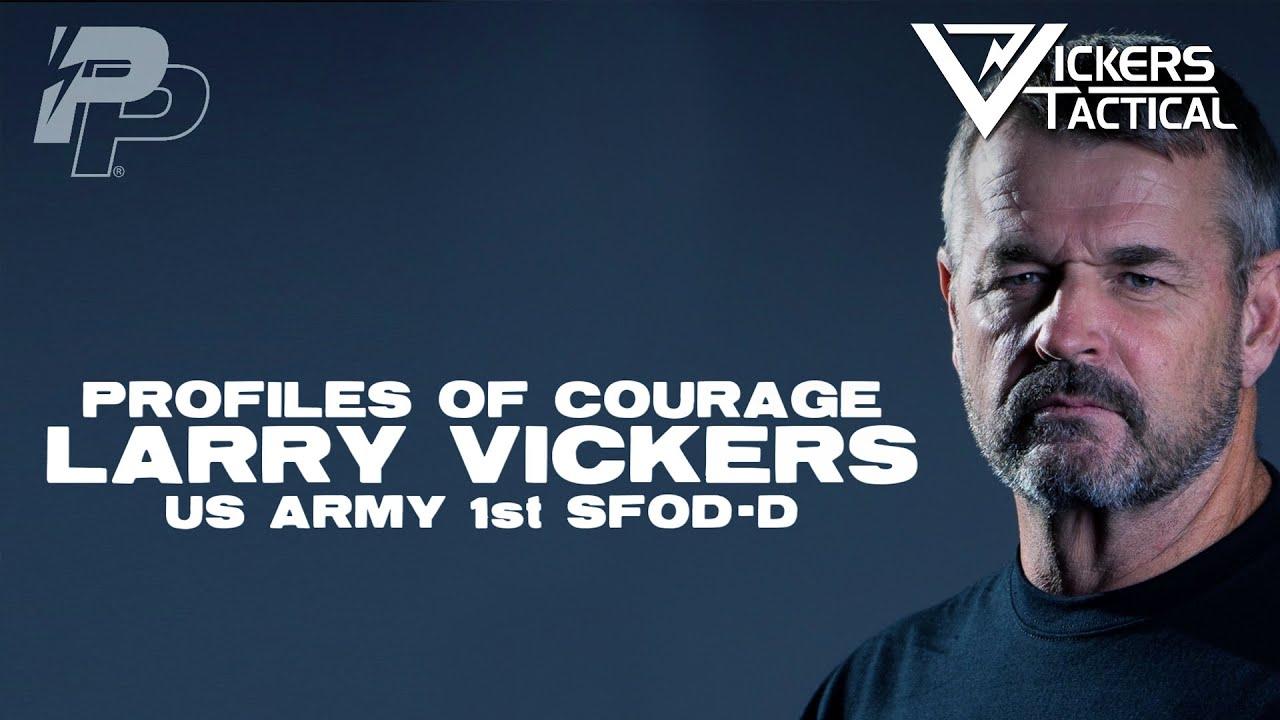 Download Profiles Of Courage - Larry Vickers - Delta Combat Veteran