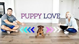 Who Does our PUPPY Love the Most?