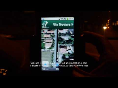 Google Navigator su Acer Liquid by batista70phone