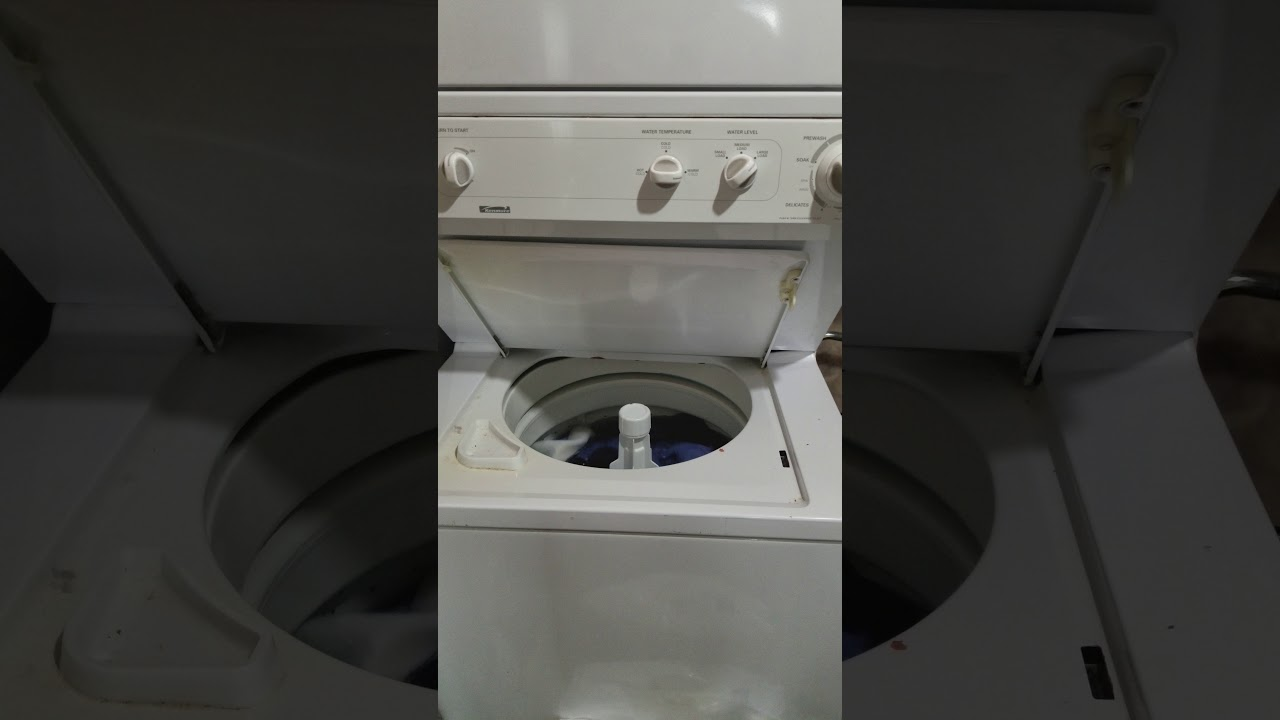 Fix Your Kenmore Stack Washer: 5 Steps (with Pictures)