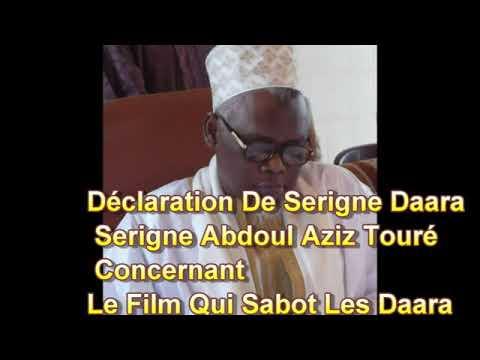 Déclaration De Serigne Daara Serigne Abdoul Aziz Touré Concernant Le Film Qui Sabot Les Daara Mercre