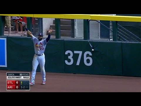MLB: Stuck In / Under the Wall