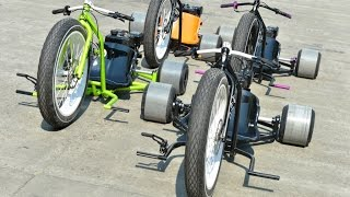 Motorized Big Wheel Drift Trike Gang