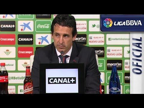 Press Conference Unai Emery post Real Betis (0-2) Sevilla FC - HD