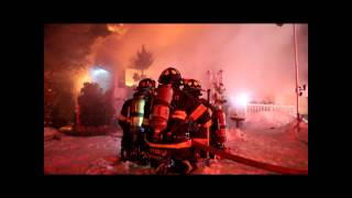 Farmingville Fire Department - Lenore Lane Structure Fire REKINDLE