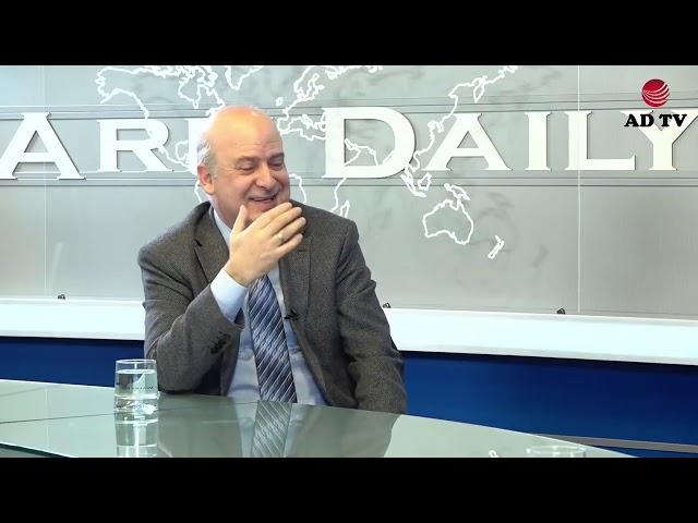 AD TV-ի հյուրը լեզվի կոմիտեի նախագահ Դավիթ Գյուրջինյանն է