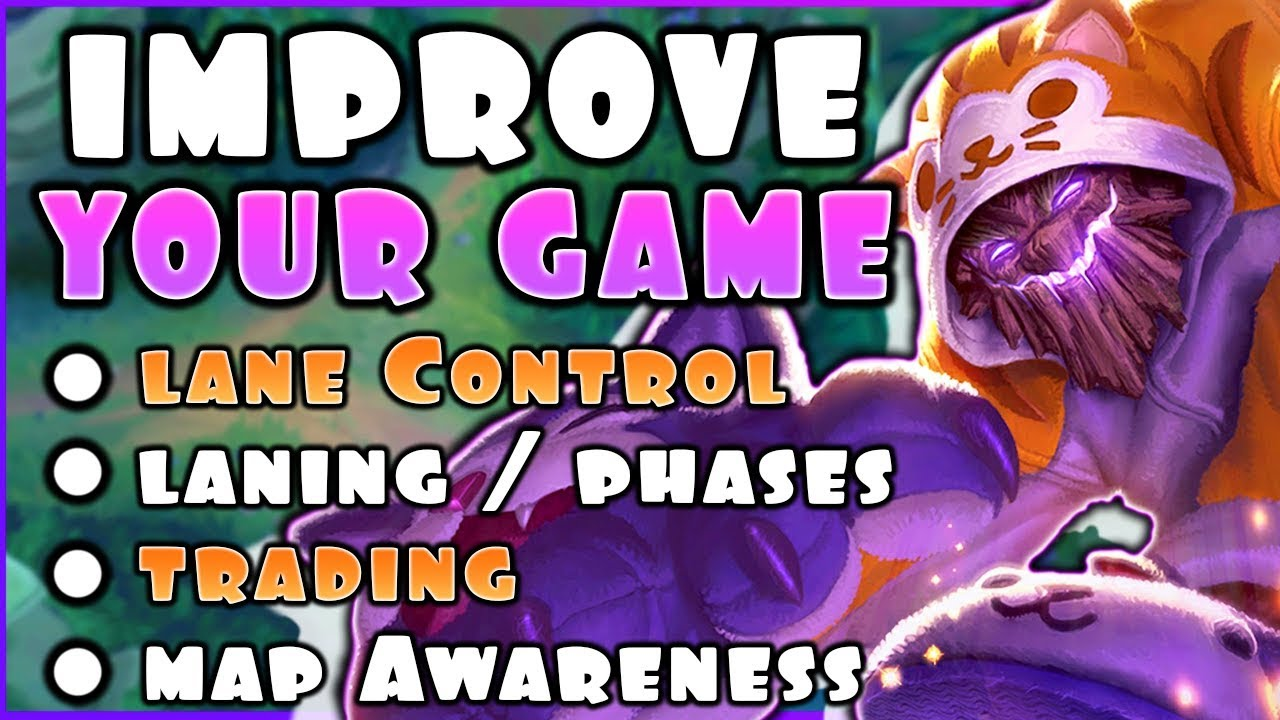 Understanding The Basics Wave Control Laning And Vision In