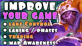 UNDERSTANDING THE BASICS - WAVE CONTROL, LANING, AND VISION - IN-DEPTH GUIDES TO LEAGUE OF LEGENDS