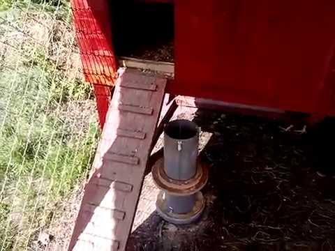 chicken medium feeder id pvc proof rodent