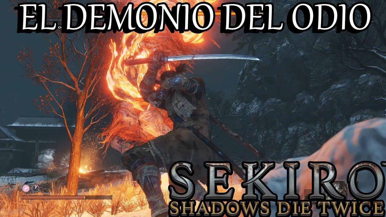 Los Secretos de Sekiro EL DEMONIO DEL ODIO - YouTube