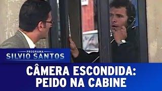 Câmera Escondida (15/05/16) - Peido na cabine