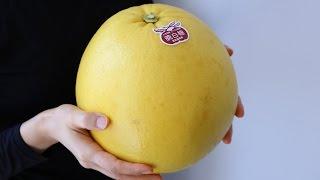 """World Heaviest Citrus""""Banpeiyu"""" First Cooking Challenge"""