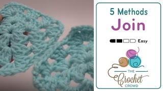 How to Attach Granny Squares: 5 Methods