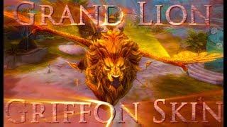 Guild Wars 2 | The Grand Lion Griffon Skin