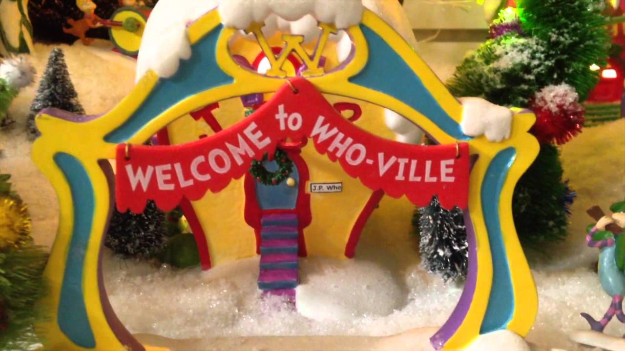 department 56 whoville christmas village