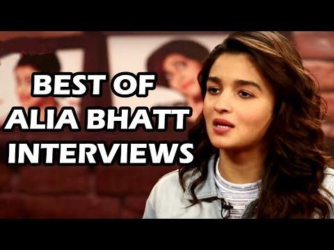 """Shahrukh Khan Made Me Nervous""-Alia Bhatt I Best Of Alia Bhatt Interviews"