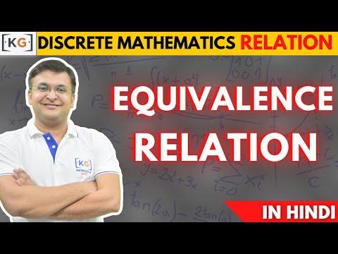 Part - 11 | Equivalence Relation in Discrete Mathematics in HINDI |