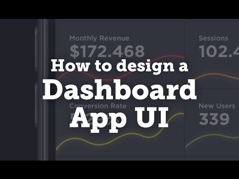 How to Design a Dashboard App: UI/UX Design Process/Workflow in Sketch