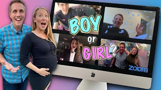 Virtual Gender Reveal Party OFFICIAL 💻👶🍼