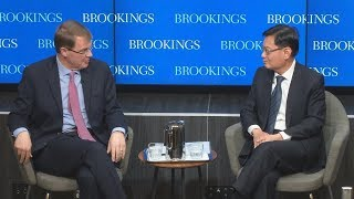 U.S. engagement in Asia: A conversation with Singapore's Minister for Finance Heng Swee Keat