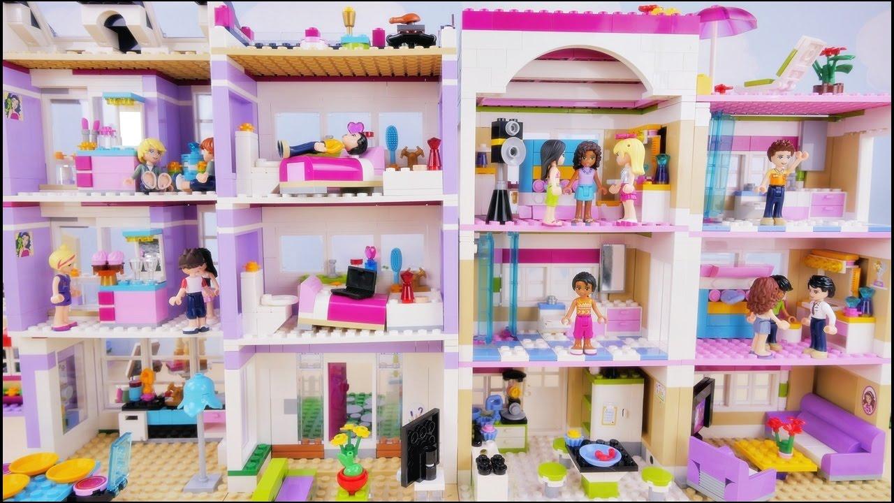 Domówka W Nowych Domach Bajka Po Polsku Z Klockami Lego Friends