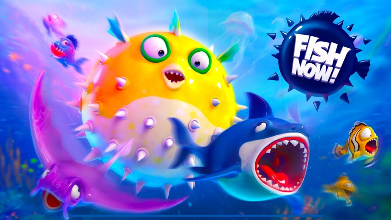 Fish Now: Online io Game & PvP Android Gameplay u1d34u1d30
