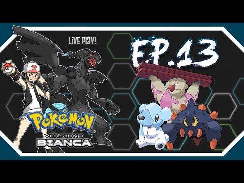 Gameplay Live Pokémon Bianco #13 - Verso il Monte Vite!