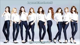 Girls' Generation-  Motorcycle (Sub Español-Romaji)