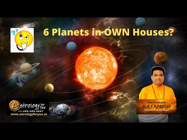6 Planets in Own House. Is it Good or Bad? What is the impact?