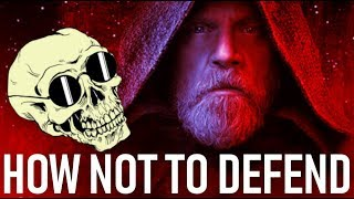 How Not To Defend The Last Jedi