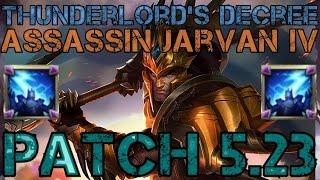 ► Patch 5.23 Assassin Jarvan IV - Season 6 - Diamond Commentary - League of Legends