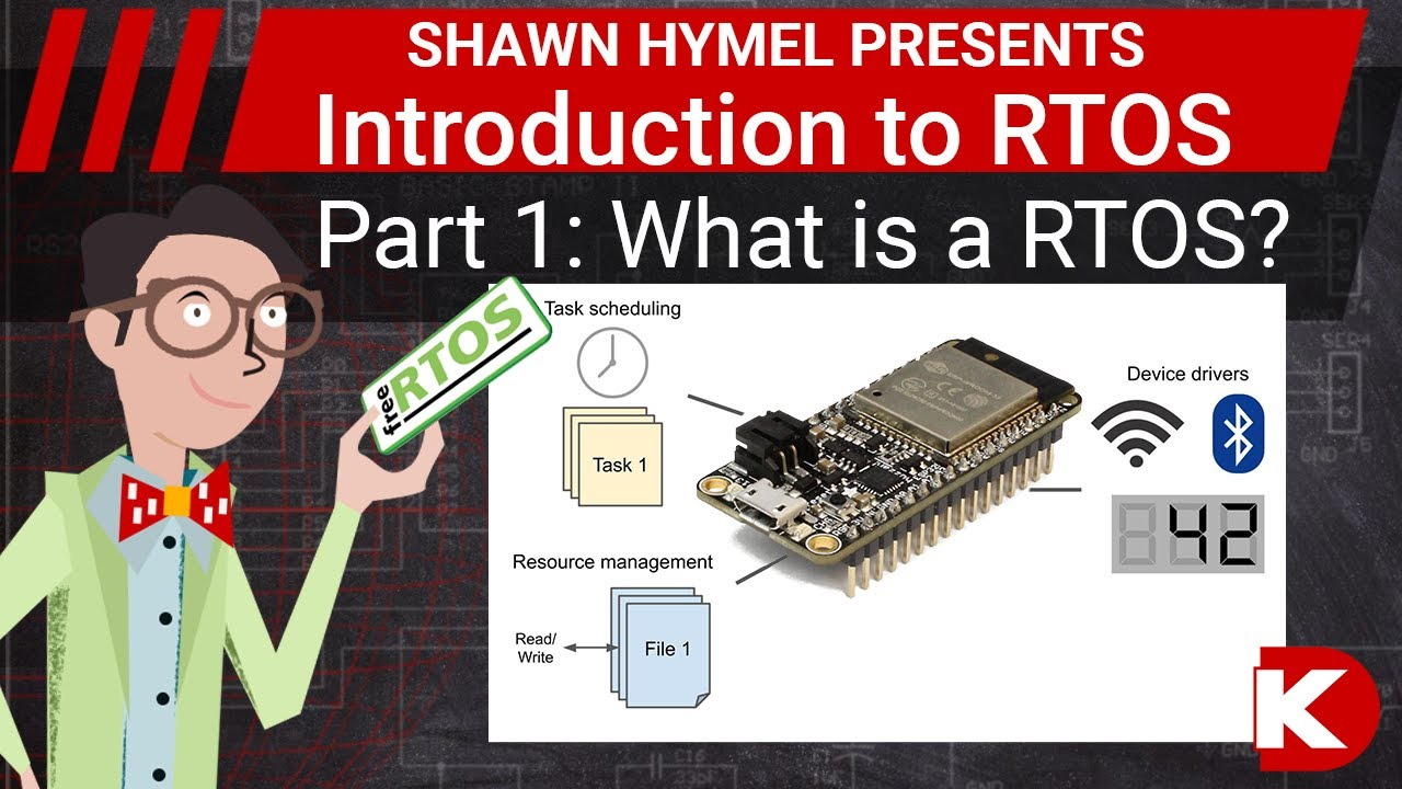 Introduction to RTOS Part 1 - What is a Real-Time Operating System (RTOS)? | Digi-Key Electronics