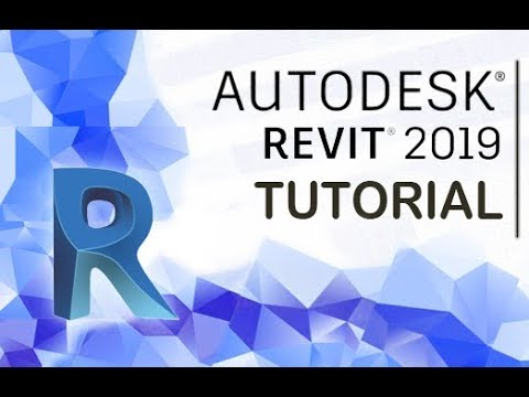 Autodesk Revit 2019 - Tutorial for Beginners [+General Overview]