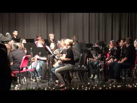 Carson Junior High School Band Concert 12/12/12