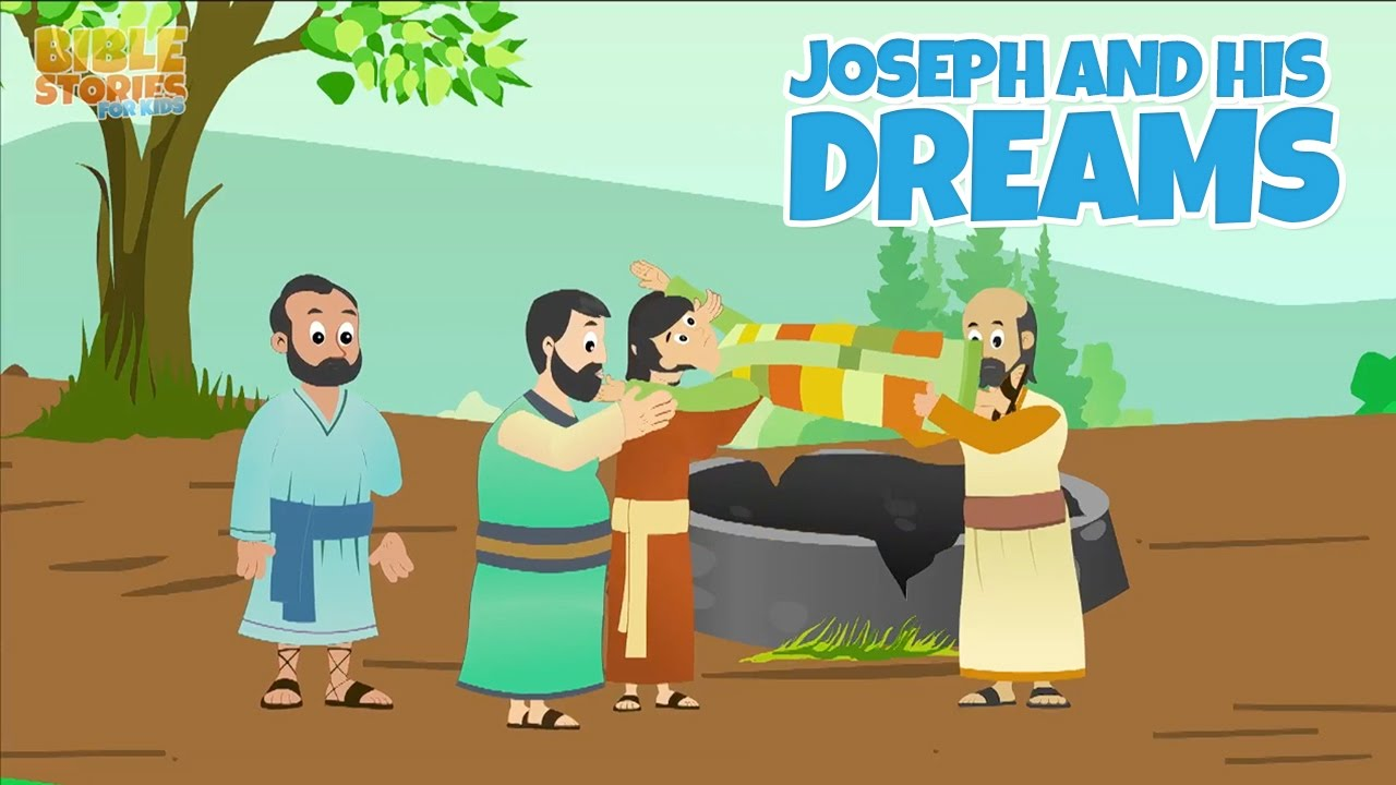 Joseph and His Coat of Many Colors! -Bible Stories For Kids! - YouTube