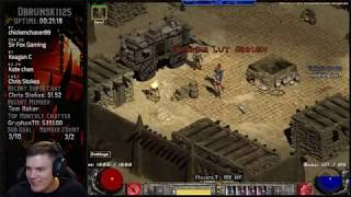 Diablo 2 - Testing out the Ice Maiden Bowazon in Ancient Tunnels (This build rocks)