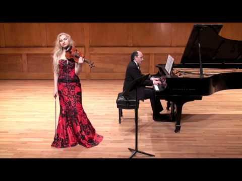 Joanna Kaczorowska: Guastavino, Cantos Populares, No. 4
