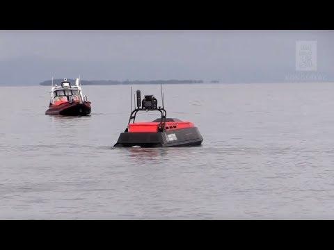 Test area for autonomous vessels