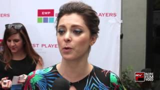 Rachel Bloom talks EWP Visionary Awards, Asian Hunks, 2nd Season of Crazy Ex Girlfriend and more