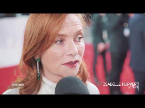 Isabelle Huppert talks about Souvenir at the FIFM 2016.