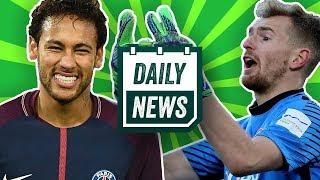 Der FC Bayern findet Robben-Ersatz, Borussia Dortmund will Lukas Hradecky und Neymar verletzt sich!