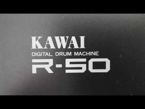 Kawai R50 drumcomputer with build in Linn soundchip