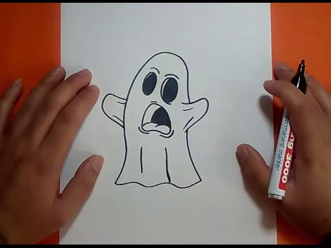 Como dibujar un fantasma paso a paso 9 | How to draw a ghost 9 from YouTube · Duration:  2 minutes 53 seconds