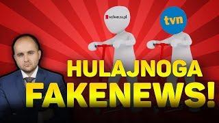 Jak kreować FakeNewsa? Czyli jak TVN hulajnogą koło pomnika jeździł!