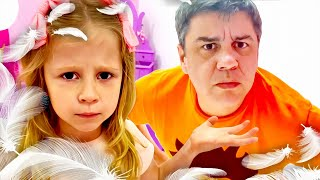 Nastya membuat keinginan untuk seorang ayah menghilang